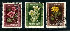 Hungary Flowers  SG 1124-1126 used