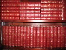 Easton Press HARVARD CLASSICS 50 Volume Complete Leather Set  Opened RARE