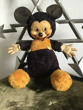 More details for vintage 1950's mickey mouse soft toy