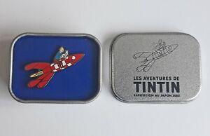 """Pin's Tintin """"Exposition du Japon 2020"""" La fusée"""