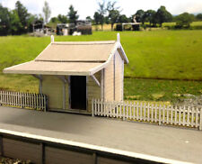 Ho scale NSWGR A-1 station and platform