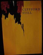 CLYFFORD STILL BUFFALO SAN FRANCISCO COLLECTIONS Thomas Kellein Abstract Art Oil