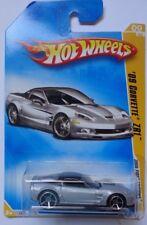2008 Hot Wheels New Models '09 Corvette ZR1 9/40 (Silver Version)