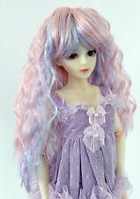 "1/6 1/4 bjd 6-7"" doll head multiple color wig yosd dollfie Luts Iplehouse lati"