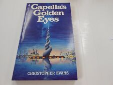 Capella's Golden Eyes by Christopher Evans (1982,USA) 1st US Edition-Ace Books
