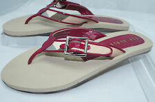 New Burberry Thongs Nova Check Sandals Size 36 Flip Flops Shoes