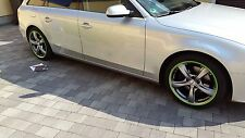 AUDI A4 A5 FELGENSCHUTZ & Styling Felgenringe Avant Cabriolet Coupe Sportback