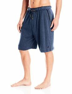 Nautica Mens Sleepwear Soft Knit 100% Cotton Elastic Waistband- Pick SZ/Color.