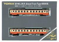 Tomix 92146 JNR Diesel Train Type KIHA 16 2 Cars Set (N scale)