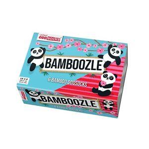 United Oddsocks Bamboozle 6 Odd Socks Gift Box-Ladies Size 4-8