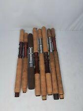 Nice Lot of Cork Fishing Rod Grips 16 Piece Set Fishing Pole Repair-Medium lot C