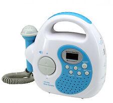 Soundmaster KR36BL in blau Kinder-Abspielgerät tragbar mit Radio/USB/SD/Mikrofon