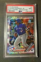 2019 Bowman MLB Chrome Speckle Refractor Vladimir Guerrero Jr. /299 PSA 9 MINT