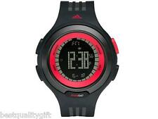 NEW ADIDAS BLACK & RED DIGITAL CHRONO RESPONSE SEQUENCE WATCH-ADP3068