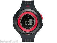 Adidas Nuevo Negro y Rojo Digital Cronómetro Response Sequence WATCH-ADP3068