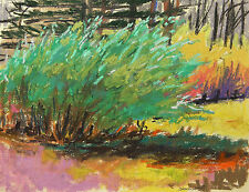 ORIGINAL Landscape  Pastel Painting JMW John Williams art IMPRESSIONIST Sale