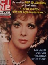 ▬► 1982 Ciné Revue 19 Gina Lollobrigida Mat Dillon Lynda Carter Kim Wilde