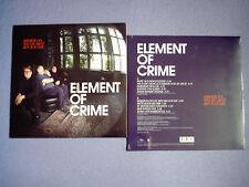 Element Of Crime – Immer Da Wo Du Bist Bin Ich Nie - LP 2009 ovp