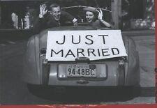 hochzeitglückwunsch - CARTOLINA d'auguri: FRESCO verheiratetes COPPIA NEL CABRIO