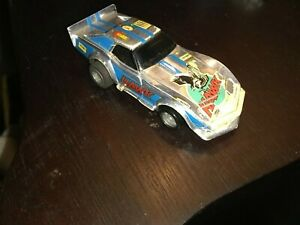 Tyco Wheelie Corvette Hawk Ho Slot Car