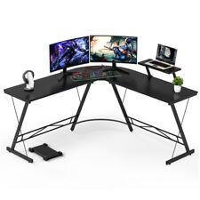 51 Computer Gaming Laptop Table L Shaped Desk Corner Workstation Office Desk