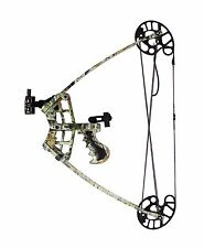 NEW C109 Triangle Compound Bow Set 45lbs Camo inc 6x Arrows Compact Kit Hunting