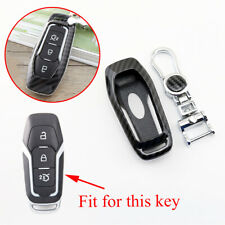 For Ford Fusion F150 Mustang Edge Smart Key Fob Cover Ring Bag Shell Accessories