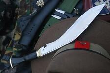 Authentic Traditional Service No.1 Kukri,British Gurkha Army Issue Khukuri Knife