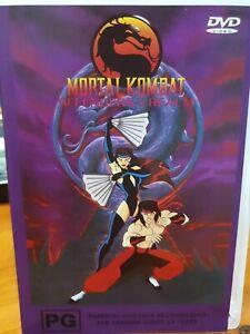 Mortal Kombat : Vol 1 -- Defenders of the Realm DVD (Pal, 2001) RARE - FREE POST