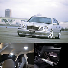 22pcs white Interior LED light kit for Mercedes Benz Eclass W210 sedan 1995-2001