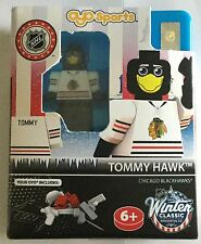 Chicago blackhawks tommy hawk mascotte nhl oyo brick toy action figure