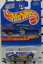 1998 RACE TEAM SERIES IV #3 FORD SHELBY COBRA 427 S/C CAR DRAG MATTEL HOT WHEELS