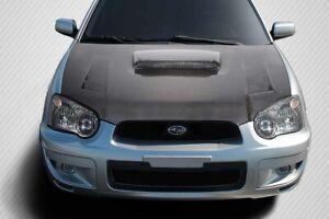 04-05 Subaru Impreza TS-1 DriTech Carbon Fiber Body Kit- Hood!!! 114019