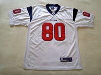 f6e30cd78 Houston Texans  80 Andre Johnson NFL Football Jersey Reebok White Shirt Sz  50 L