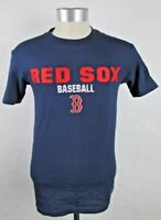 Boston Red Sox Majestic Men's Short Sleeve Embroidered Logo T-Shirt MLB S