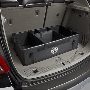 2012-2021 Buick Encore Cargo Area Organizer 22854120 Black w/ Logo OEM GM
