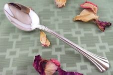 """18th EIGHTEENTH CENTURY Serving Spoon 8 1/2"""" Reed & Barton Sterling"""