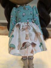 Neo Blythe Doll Plastic Fashion 'Shroom Dress