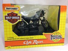 NIB Harley Davidson / Matchbox Cafe Racer Die Cast Model 1:15 Scale