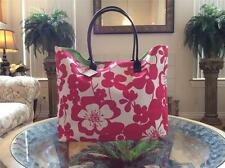 NWT Macy's Exclusive Women Pink Large Beach Tote Bag Shopping Handbag!