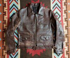 Yohji Yamamoto Y's For Men Y3 HorsehideMotorcycle Leather Jacket