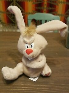 Meanies Series 1 1/2  Lucky the Rabbit bean bag plush 1997 New with Tags