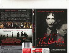 The Libertine-2003-Johnny Depp-Movie-DVD