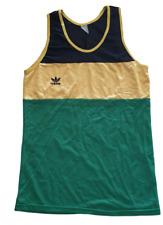 ADIDAS Single Vest Sport Undershirt Sleeveless T-Shirt Athletic Gym Shirt Size S