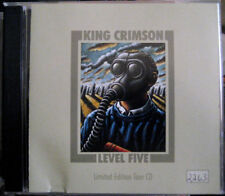 KING CRIMSON Level Five Limited Edition Tour CD #2263 PROG Fripp Belew Trey Gunn