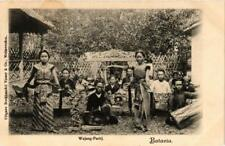 PC BATAVIA Wajang Partij INDONESIA (a11579)