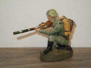 Elastolin Germany - Militair Toy - Soldier with Gun *37744