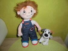 Junge mit Hund    JOE - MO   Spiegelburg  ca 25 cm   NEUWERTIG