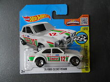 1970 Ford Escort RS1600 - White with Castrol 12 De-cal - Short Card - SEALED