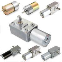 DC 12V 0.6-200RPM High Torque Turbo Turbine Worm Gear Box Electric Drive Motor